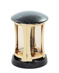 Kő - fém lámpa