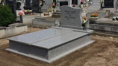 Gránit sírkő
